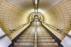Descending *Explore* (sarah_presh) Tags: underground tube embankment london england hdr staircase stairs down nikond750