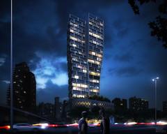 Mixed-Use Tower (Imagenatives) Tags: imagenatives architectural visualisation archviz