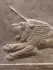 Lion (Aidan McRae Thomson) Tags: nineveh relief britishmuseum london assyrian sculpture mesopotamia ancient