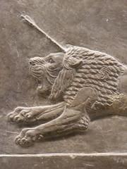 Lion (Aidan McRae Thomson) Tags: nineveh relief britishmuseum london assyrian sculpture mesopotamia ancient