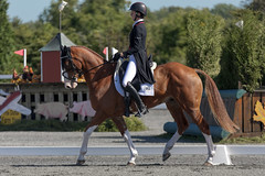 Friday at Fair Hill: Dressage - Caroline Martin (Tackshots) Tags: eventing dressage horsetrials equestrian fairhill elkton maryland horse riding ex100300f4 sigma