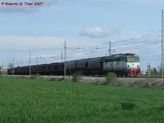 E646 per il diffuso San Donato (Di Trani Roberto) Tags: e646 031 con il diffuso ravenna bologna san donato godo trenitalia cargo fs nero fumo