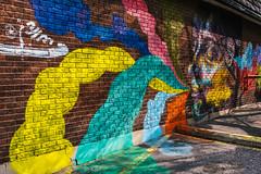 Imagine (Yewbert The Omnipotent) Tags: toronto canada urban city downtown nikon 35mm tamron d750 vibrant graffiti colour