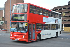 National Express West Midlands 4379 BV52OAW (Will Swain) Tags: 26th october 2016 bus buses transport travel uk britain vehicle vehicles county country england english birmingham west midland midlands city centre nxwm nx national express 4379 bv52oaw