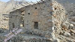 Silam House on qana village - (Salem_Kasih) Tags: musandam khasab qana مسندم خصب قانه قرية qanah viilage رؤوس الجبال بيت house oman سلطنة عمان بحر sea stone