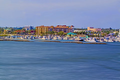 """View of downtown Fort Pierce, Florida, USA / """"Sunrise City"""" (Jorge Marco Molina) Tags: fortpierce cityscape cityurban downtown density skyline building highrise architecture centralbusinessdistrict cosmopolitan metro metropolis commercialproperty sunshinestate st luciecounty sunrisecity waterfront boating nautical sailing pier fishing residential condominium"""