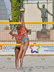 Beach Masters Montpellier 2016 (JPPIX92) Tags: girl 2016 france d500 beautiful gorgeous female women nikond500 portrait swimsuit languedoc bikini face hair beachvolleyball beachvolley blond volleyball blondhair beach volley