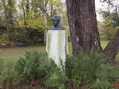 Guido Gezelle, the poet (Martin Beek) Tags: guidogezelle poet catholic garden flemish priest belgium europe lowcountries
