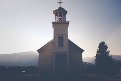 St. Mary's Mission (michaelraleigh) Tags: vintage bokeh f28l secluded bitterroot beautiful serene highquality montana infocus outdoors 2035mm canon canoneos5dmarkii blurred