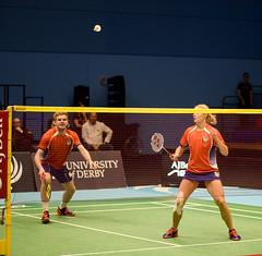 NBLmatch-5100-0282 (University of Derby) Tags: 5100 badminton nbl sportscentre universityofderby match