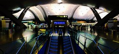 DOH (noblerzen) Tags: architecture panorama iphone airport international hamad