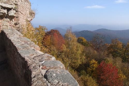 View from Wegelnburg, 01.11.2011.