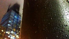 341   366: Big & Slick (phillytrax) Tags: philadelphia philly pa pennsylvania cityofbrotherlylove 215 city urban usa america unitedstates metropolis metropolitan instagram project366 centercity downtownphilly downtownphiladelphia night ctc comcast2 comcasttechnologycenter depthoffield raindrops skyscraper highrise construction rainy cloudy foggy penncenter