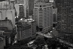 Downtown - So Paulo city (Marcos Jerlich) Tags: downtown cityscape pov urban street city blackwhite windows contrast bw shadow light dark lightroom saopaulo brazil canon canont5i marcosjerlich o