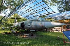 F104G 21+56 GERMAN AIR FORCE (shanairpic) Tags: preserved museum merseburg jetfighter f104g starfighter germanairforce luftwaffe