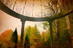 Timeless (floralgal) Tags: caramoorestateandgardens katonahnewyork autumninkatonahnewyork colorfulautumnleaves temple greektemple caramoorcenteroftheperformingartsandmusic caramoorgardens