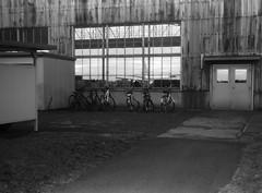 PARTITIONS (Dinasty_Oomae) Tags: nagel vollenda    blackandwhite bw monochrome outdoor jmsdf    shimofusaairbase hangar  kawasakip1 p1 p1