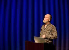 Douglas Coupland Seminar, November 02016 (Long Now) Tags: douglascoupland longnowfoundation seminarsaboutlongtermthinking salt seminars sanfrancisco sf sfjazzcenter 02016 longtermthinking art author events