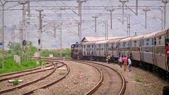 Waiting For Clearance (Ankur™) Tags: shri mata vaishno devi katra jammu kashmir indian railways canon