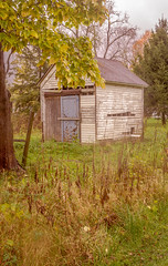 What Used To Be (daddymaverick91) Tags: shed abandoned home isolate alone secluded park nature atmosphere used past caon tree life lush green vibrance path trail