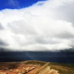 Storm on the way (vapour trail) Tags: storm cloud weather yorkshire pateley bridge coldstone cut