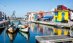 Canal de Aveiro (cvielba) Tags: aveiro barco canal centrohistorico portugal