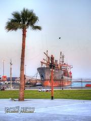 DSCN2148_tonemapped (MAMDOH ALZEMEI ممدوح الزمعي) Tags: yanbu old moon zoom nikon p900 saudi arabia ينبع البحر التاريخية قديمة ممدوح الزمعي السعودية المملكة نيكون برج ميناء التجاري السياحة السفن العملاق super