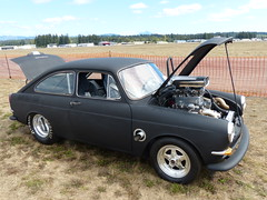 67 VW Type 3 FastBack (bballchico) Tags: 1967 vw volkswagen type3 fastback dragcar racecar carshow arlingtoncarshow 1960s scottacheson 206 washingtonstate arlingtonwashington