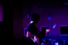 Hey Johnny (abrilwho) Tags: man teen teenage teenager scene band metal rock music bass green day stars glow instrument purple blue colors night starry boyfriend live love local bands meta maana en tres aos