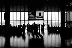 Aeroporto Barajas (stefanovillanova) Tags: travel viaggio viaggiare viaje madrid bergamo bw blackandwhite blackwhite nikon citt city