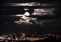 Supermoon (Luis Marina) Tags: terrific supermoon moon luna superluna santander night dark cloud nubes lights luces storm tormenta zoom weather tiempo noche cantabria pctcan parque tecnologico