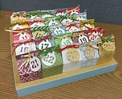 Advent Calendar (.:DarkDragon:.) Tags: papercrafting silhouette cameo christmas gift advent calendar handmade milk carton