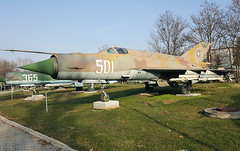 501 MiG-21 Sofia-Museum 25-11-16 (BusterG4) Tags: mikoyangurevich mig21 bulgarianairforce 501