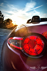 Mazda Mx-5 (GirarFly798) Tags: mazda mx5 miata sunset
