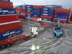 Merry go round (stevenbrandist) Tags: portofliverpool container containerterminal reachstacker