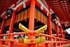 Fushimi Inari Shrine. Inari Kitsune Kyoto. © Glenn E Waters. Japan 2016. (Glenn Waters ぐれんin Japan.) Tags: kyoto japan shrine jinja inari autumn temple gold glennwaters