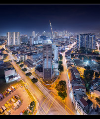 Bendeemer Triangle (HakWee) Tags: singapore cityscapes architecture vertorama lighttrails