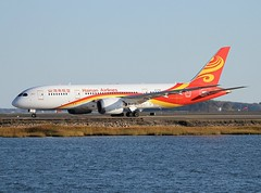 Hainan Airlines                                       Boeing 787 Dreamliner                               B-2729 (Flame1958) Tags: hainanairlines hainan hainanb787 b2729 bostonloganairport loganairport boeing787 boeingdreamliner dreamliner boeing 151015 1015 2015