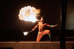 Feuerschlucker (Markus Schinke) Tags: feuerschlucker fire feuer artist nowonyx puntacana fireeater night nacht knstler