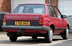 F461 WNG (Nivek.Old.Gold) Tags: 1988 vauxhall nova 12l 4door gales diss