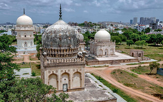 Explore the history of the Golkonda fort and Qutub Shahi Tombs