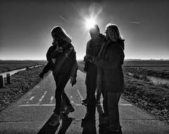 spoorlijn-polderroute (vrijstaat) Tags: holland netherlands nederland street photography streetphotography straatfotografie candid zwartwit bw blancoynegro bn monochrome ricohgrii ricohgr2 hansluthart