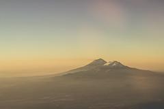 Volcanos I (Valo Alvarez) Tags: popocatepetl iztaccihuatl volcan volcanes volcanos mountain montaas sierra mexico puebla canon landscape flying airplane textures sky earth tierra colors