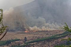 Fire on the Ridge - 2 (benagain_photos) Tags: washington butte wa fires chelan wildfires reachfire chelancomplex