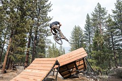 Bijou Bike Park - Test Riding (TAMBA Tahoe) Tags: california park test mountain lake bike jump bmx south tahoe bijou september dirt riding slopestyle 2015 spetember