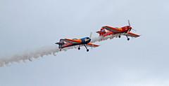 Sukhoi 26 (vic_206) Tags: plane airshow avión repsol mataro bravo3 canoneos7d canon300f4liscanon14xii festadelcel2015