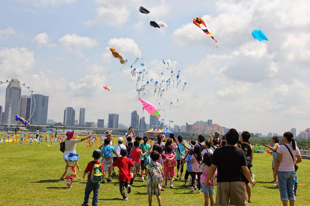 Singapore kite