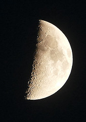 Moon - 18:40 - 20th October (Travelling Postie) Tags: moon star craters galaxy planet lunar solarsystem distant
