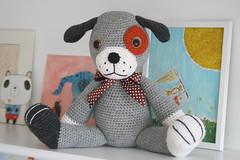 Big puppy - amigurumi pattern (lilleliis) Tags: dog wool kids puppy toy crochet yarn softies amigurumi