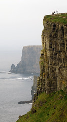 The Unstable Ground on the Cliffs of Moher (albatz) Tags: ireland warning cliffs cliffsofmoher unstable